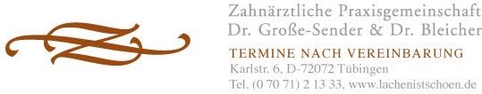 Lachen ist Schön - Dr. Große-Sender und Dr. Bleicher in Tübingen